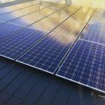 パナソニックHIT5.8kwの太陽光の設置